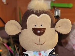 Мастер-класс: шьем озорную обезьянку. Ярмарка Мастеров - ручная работа, handmade.