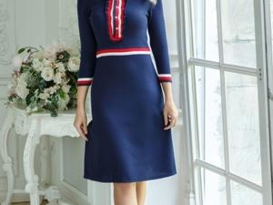 Аукцион на Вязаное элегантное платье! Старт 2500 руб.!. Ярмарка Мастеров - ручная работа, handmade.