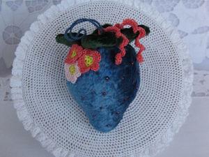 Ягодка клубничка. Ярмарка Мастеров - ручная работа, handmade.