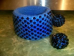 """Создаем удивительный и невероятный браслет """"Полночь"""". Ярмарка Мастеров - ручная работа, handmade."""