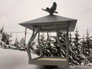Куем кормушку для птиц. Ярмарка Мастеров - ручная работа, handmade.