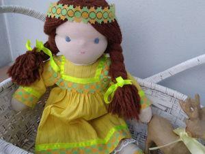 РАСпродажа вальдорфских  кукол по 999 руб!! ТОлько брюнетки. Ярмарка Мастеров - ручная работа, handmade.