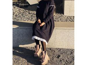 Теплое платье. Ярмарка Мастеров - ручная работа, handmade.