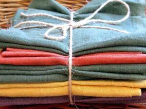 Сравнительная характеристика между постельным и одежным льном. Ярмарка Мастеров - ручная работа, handmade.