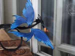 Драконы с крыльями бабочки. Ярмарка Мастеров - ручная работа, handmade.