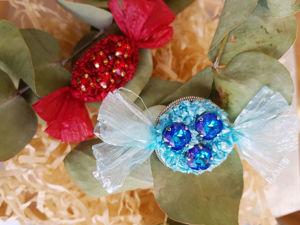Делаем броши-конфетки. Ярмарка Мастеров - ручная работа, handmade.