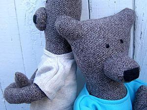 Шьем текстильных мишек Гилберта и Энджи. Ярмарка Мастеров - ручная работа, handmade.