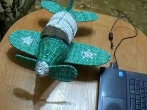 """Видео мастер-класс: плетем шкатулку """"Самолет"""" из бумажных трубочек. Часть 2. Ярмарка Мастеров - ручная работа, handmade."""