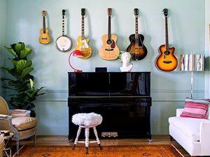 Вторая жизнь старых музыкальных инструментов. Ярмарка Мастеров - ручная работа, handmade.