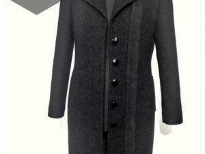 Пошив классического пальто. Ярмарка Мастеров - ручная работа, handmade.