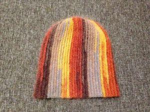 Вяжем шапку-бини крючком. Ярмарка Мастеров - ручная работа, handmade.