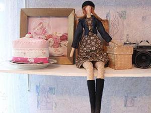 """Шьём очаровательную куклу тильду """"Парижанка"""", часть 2. Ярмарка Мастеров - ручная работа, handmade."""