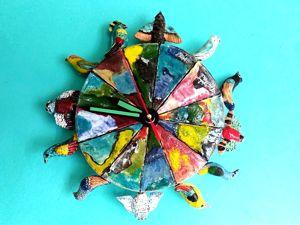День радости. Новые часы с птицами. Ярмарка Мастеров - ручная работа, handmade.