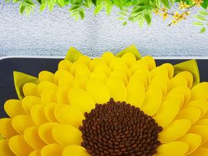 Делаем цветок из пластиковых ложек и кофейных зёрен. Ярмарка Мастеров - ручная работа, handmade.