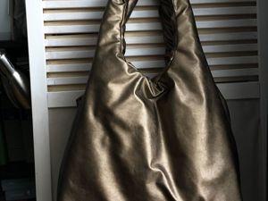 Сшить сумку-пуховик — тренд сезона. Ярмарка Мастеров - ручная работа, handmade.