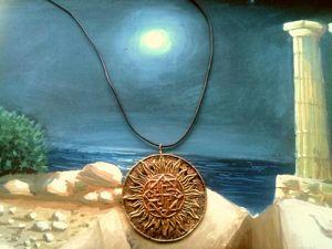 Винтажный Кулон-оберег в Славянском стиле  «Валькирия». Ярмарка Мастеров - ручная работа, handmade.