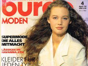 Парад моделей Burda Moden № 4/1992. Ярмарка Мастеров - ручная работа, handmade.