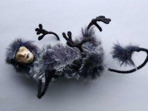 Синий Птицечерт. Ярмарка Мастеров - ручная работа, handmade.