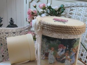 Декорируем старую картонную коробку в технике декупаж. Ярмарка Мастеров - ручная работа, handmade.