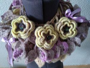 Распродажа оригинальных шарфиков-колье!! от799 руб!. Ярмарка Мастеров - ручная работа, handmade.