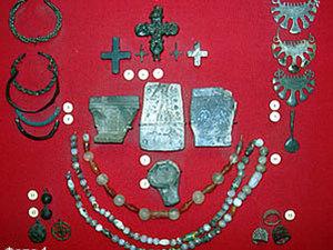 Бусы — украшение женского славянского костюма. Ярмарка Мастеров - ручная работа, handmade.