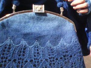 Мастер-класс: как сделать сумку с двойным фермуаром. Ярмарка Мастеров - ручная работа, handmade.