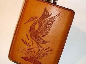 Crane Flask DIY. Livemaster - handmade