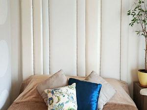 Мягкая стена из искусственной кожи. Ярмарка Мастеров - ручная работа, handmade.