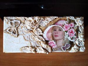 Создаем шкатулку «Для себя любимой». Ярмарка Мастеров - ручная работа, handmade.