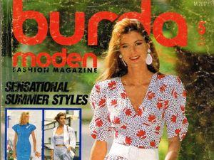Парад моделей Burda Moden № 5/1987. Ярмарка Мастеров - ручная работа, handmade.