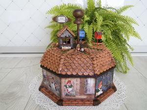 Дополнительные фотографии короба  «Карлсон, который живет на крыше». Ярмарка Мастеров - ручная работа, handmade.