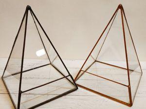 Мы изготавливаем геометрические формы для флорариумов. Ярмарка Мастеров - ручная работа, handmade.