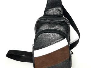 Видеообзор мужского рюкзака-сумки слим. Ярмарка Мастеров - ручная работа, handmade.