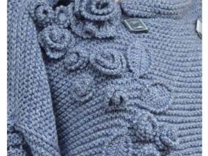 Пальто вязаное. Ярмарка Мастеров - ручная работа, handmade.