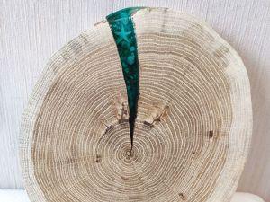 Море в спиле дерева своими руками. Ярмарка Мастеров - ручная работа, handmade.