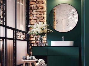 Насыщений зелёный в интерьере. Ярмарка Мастеров - ручная работа, handmade.