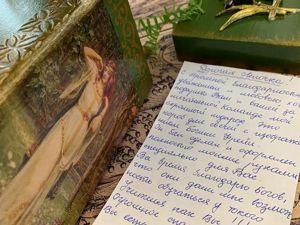 Получила по почте подарок от ученицы. Ярмарка Мастеров - ручная работа, handmade.
