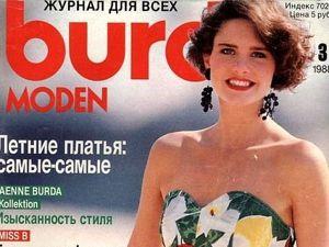 Технические рисунки Burda Moden № 3/1988. Ярмарка Мастеров - ручная работа, handmade.