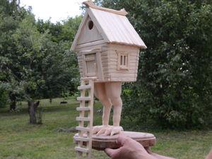 Домик-шкатулка  «Избушка» . Видео-обзор, фото, описание. Ярмарка Мастеров - ручная работа, handmade.