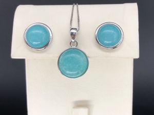 Видео-презентация: комплект с голубым кварцем. Арт.126. Ярмарка Мастеров - ручная работа, handmade.