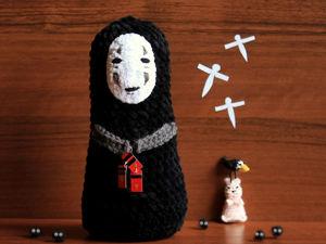 Вяжем «Безликого Бога» из м/ф «Унесенные призраками». Ярмарка Мастеров - ручная работа, handmade.