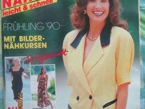 Burda special шить легко и быстро 1990/1. Ярмарка Мастеров - ручная работа, handmade.