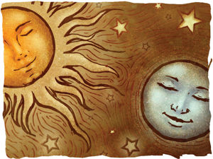 О лунных и солнечных людях. Ярмарка Мастеров - ручная работа, handmade.