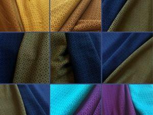 Новые цвета натуральной перфорированной замши. Ярмарка Мастеров - ручная работа, handmade.