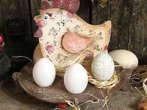 """Создание подставки для яиц """"Пасхальная курочка"""". Ярмарка Мастеров - ручная работа, handmade."""