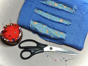Новая жизнь старых джинсов. Ярмарка Мастеров - ручная работа, handmade.