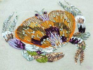 ИНтересные материалы для вышивки. Ярмарка Мастеров - ручная работа, handmade.