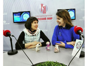 Интервью на радио Русский мир 13 февраля 2019. Ярмарка Мастеров - ручная работа, handmade.