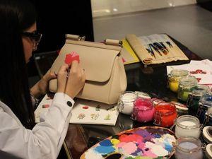 Идеи и тенденции в мире росписи сумок, или Что нынче в моде. Ярмарка Мастеров - ручная работа, handmade.