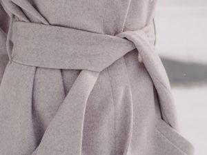 Аукцион на весеннее легкое длинное пальто! Старт 3500 р!. Ярмарка Мастеров - ручная работа, handmade.